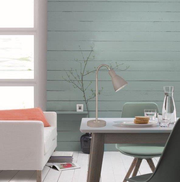 Επιτραπέζιο Φωτιστικό Lolland Χρώμα 'μμου-Γκρι
