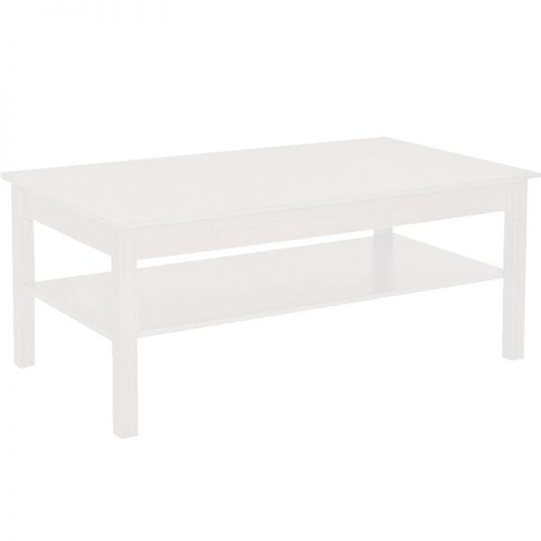 ANEMOS COFFEE TABLE 110x60x47Ycm ΛΕΥΚΟ