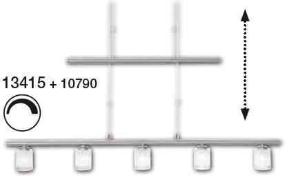 Shade Σατινέ Φ6 για τη σειρά m6 Mini1 LED