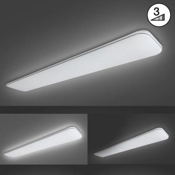 Γραμμικό Φωτιστικό Οροφής Aldo Λευκό 120x18