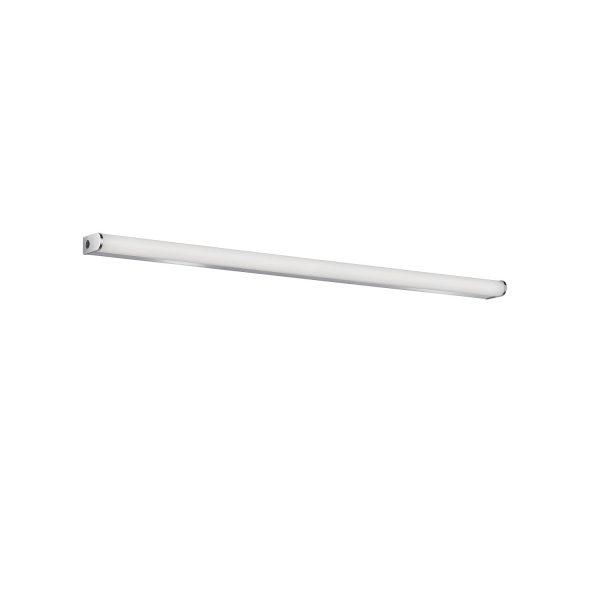 Απλίκα Baabe Χρώμιο-Λευκό 110x8x3,7