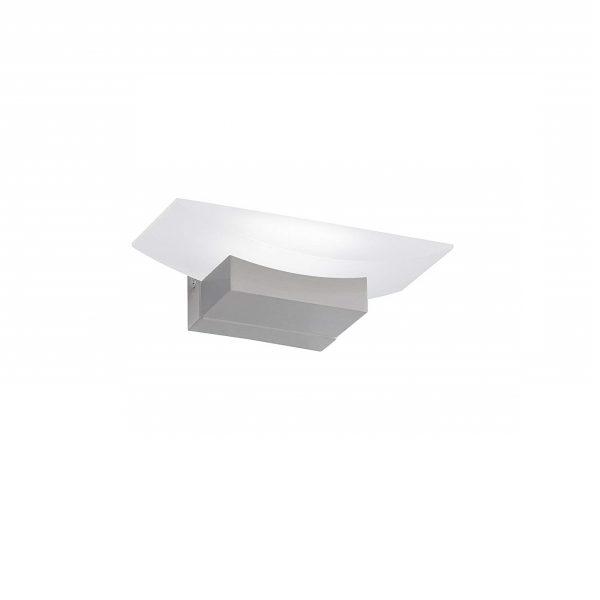 Απλίκα Bowl Λευκό-Νίκελ ματ L20