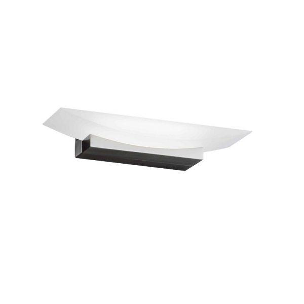 Απλίκα Bowl Λευκό-Νίκελ ματ L30