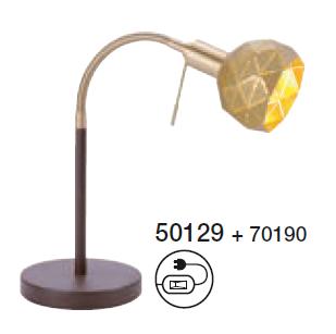 Καπέλο Χρυσό Μεταλλικό Φ10 m6 - VINTAGE
