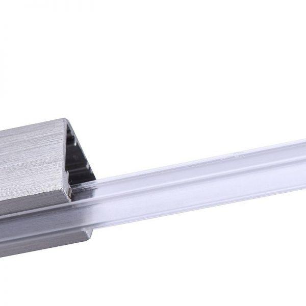 Ακρυλικό Κάλυμμα Ράγας 100 εκ Νίκελ ματ m6 - HV-TRACK 4