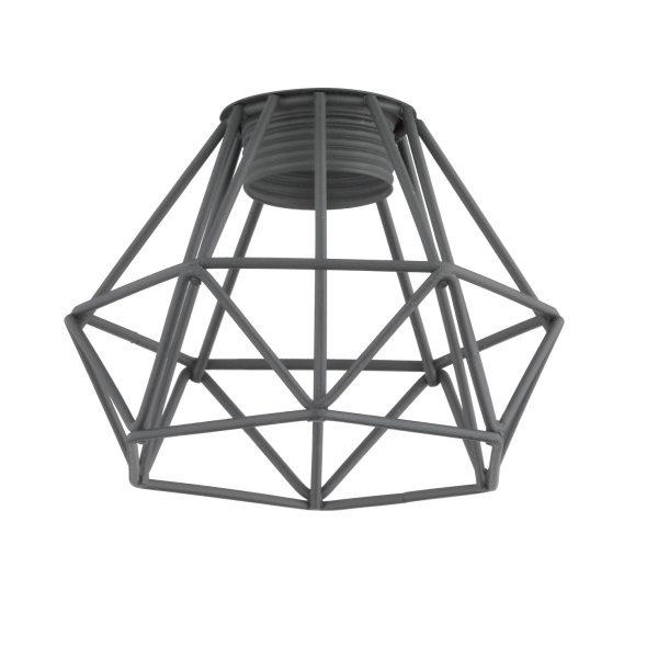 Καπέλο Γκρι Μεταλλικό Πλέγμα Φ9.5 m6 - VINTAGE