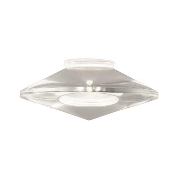 Shade Ακρυλικό Γυαλί Φ9 Διαφανές m6 – LED 8