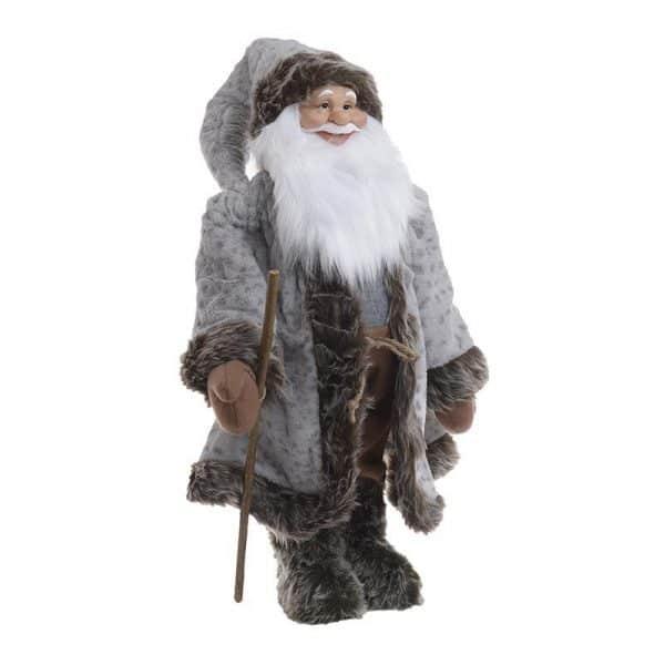 Inart Άγιος Βασίλης Γκρί   Συνθετικό / ΠΟΛΥΕΣΤΕΡ