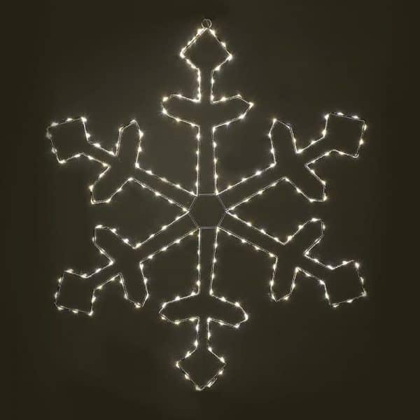 Inart Λαμπάκια LED  Σίδερο   Πλαστικό 78x1x78 cm