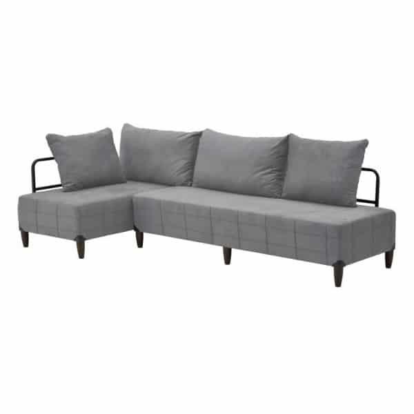Inart Γωνιακός Καναπές