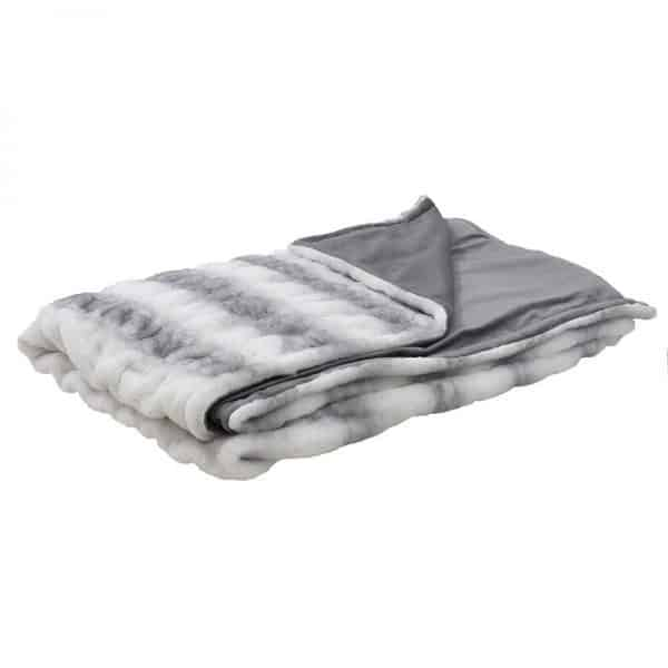 Inart Ριχτάρι 150Χ180 Γκρί,Λευκό-Ελεφαντόδοντο   Συνθετικό / ΠΟΛΥΕΣΤΕΡ 150x180x180 cm