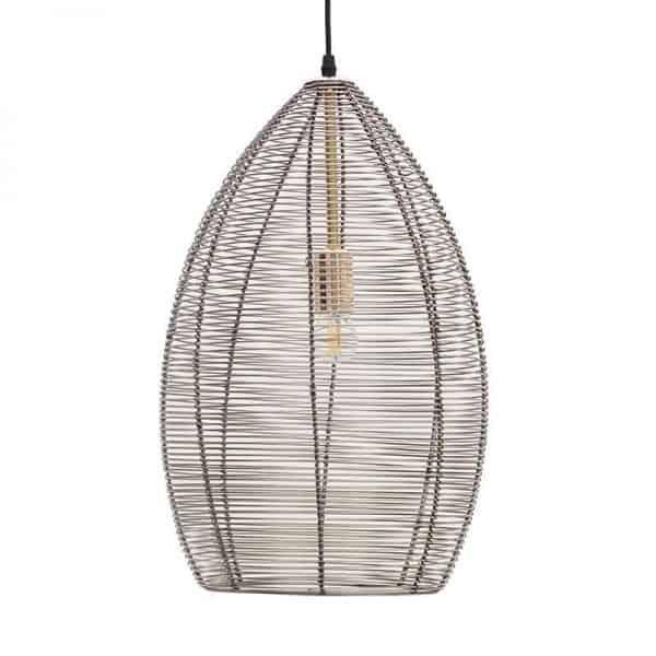 Inart Φωτιστικό Οροφής  Σίδερο 30x30x66 cm