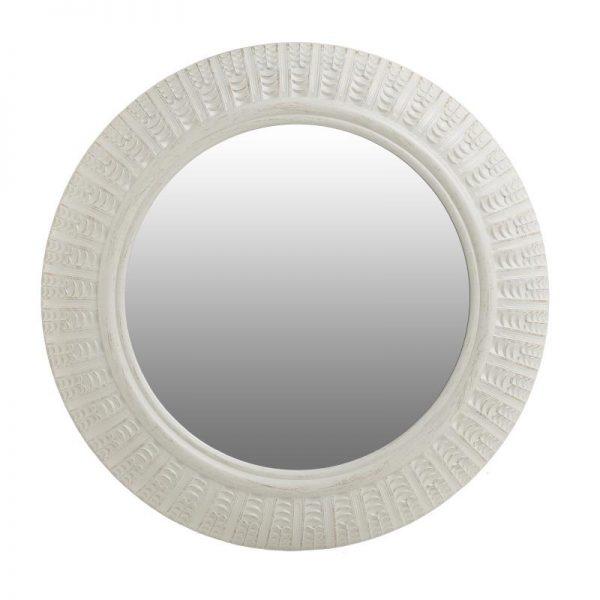Inart Καθρέπτης Τοίχου  Μέντα    Πολυρεσίνη 50x6x50 cm