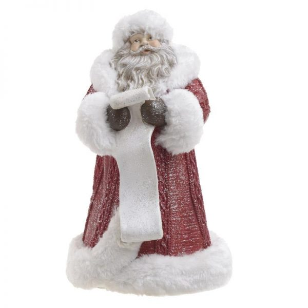Inart Χριστουγεννιάτικο Διακοσμητικό     Πολυρεσίνη 19x19x30 cm
