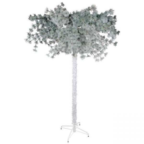 Inart Χριστουγεννιάτικο Ανάποδο Δέντ  Σίδερο   Πλαστικό 150x150x230 cm