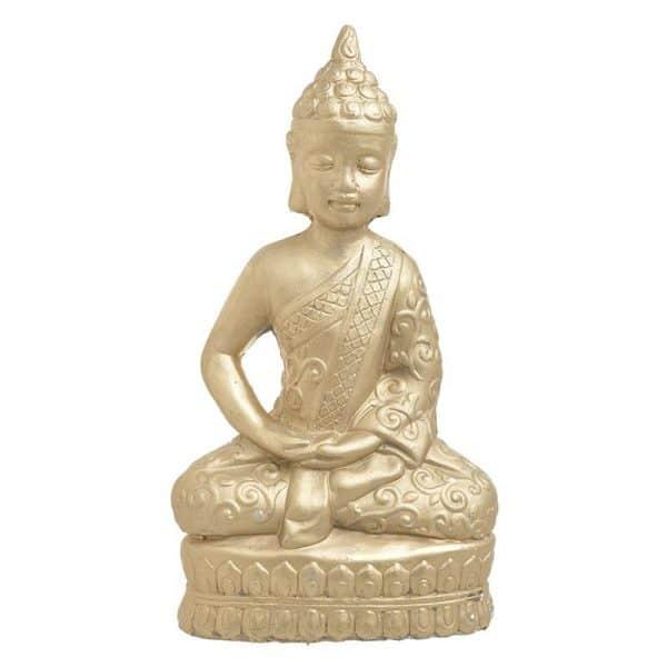 Inart Βούδας Χρυσό 26x15x47 cm