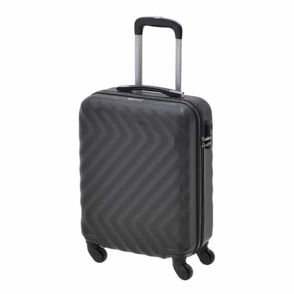 Inart Βαλίτσα Ταξιδιού Μαύρο Σίδερο  Συνθετικό / ΠΟΛΥΕΣΤΕΡ Πλαστικό 40x20x55 cm