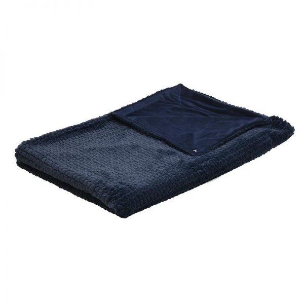 Inart Ριχτάρι 150Χ180 Μπλε   Συνθετικό / ΠΟΛΥΕΣΤΕΡ