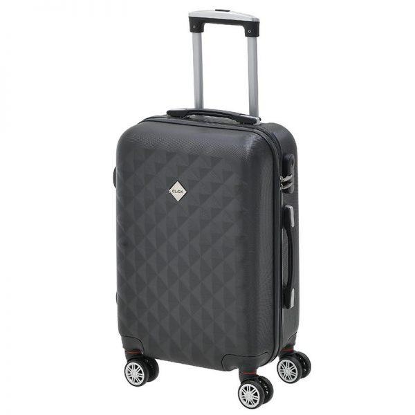 Inart Βαλίτσα Ταξιδιού Μαύρο Σίδερο  Συνθετικό / ΠΟΛΥΕΣΤΕΡ Πλαστικό 38x23x57 cm