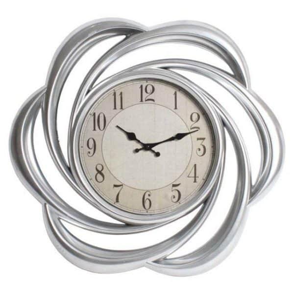 Inart Ρολόι Τοίχου 62x6.5x62 cm
