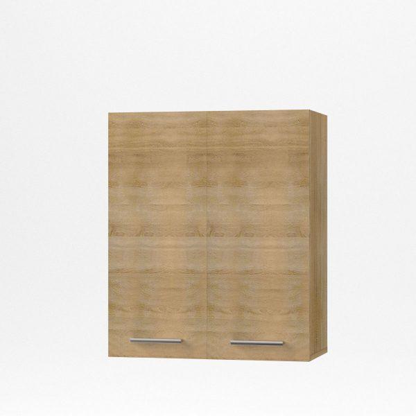 Alina Πάνω ντουλάπι 60x30,5x71,8εκ Σονόμα-Μοκκα SO-AV60