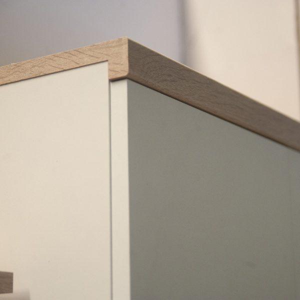 Ντουλάπα Δίφυλλη Top Mix 60x33x183cm Λευκή-Σονόμα TO-TOPSFZ2D1S60W