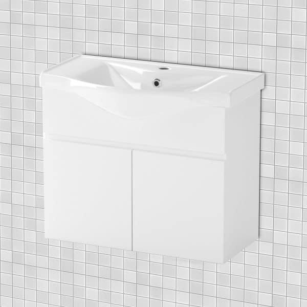 Κρεμαστό Έπιπλο Μπάνιου Με Νιπτήρα Bianca 75*45*62cm