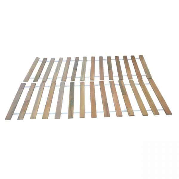 Πάτωμα Κρεβατιού Ημίδιπλο Mασίφ Ξύλο με Ιμάντα 140x200 TO-FLOOR140