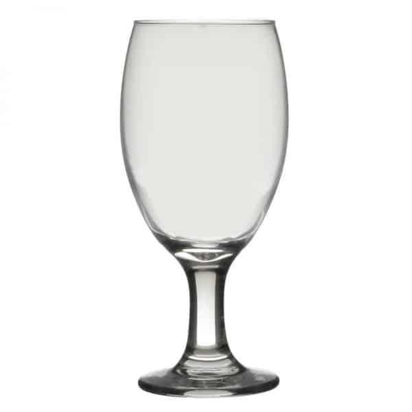 Inart Ποτήρι Κρασιού Σετ Των 36 Διαφανές    Γυαλί 6.5x6.5x18 cm