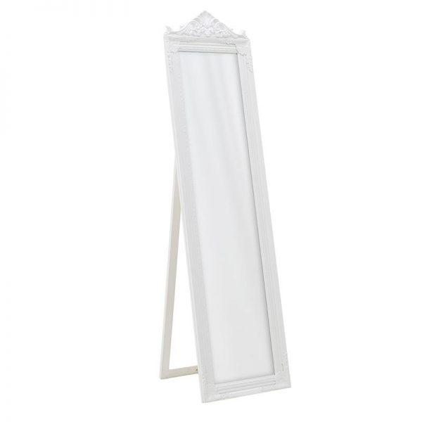 Inart  Λευκό-Ελεφαντόδοντο    Πολυρεσίνη,Γυαλί 40x2x162 cm