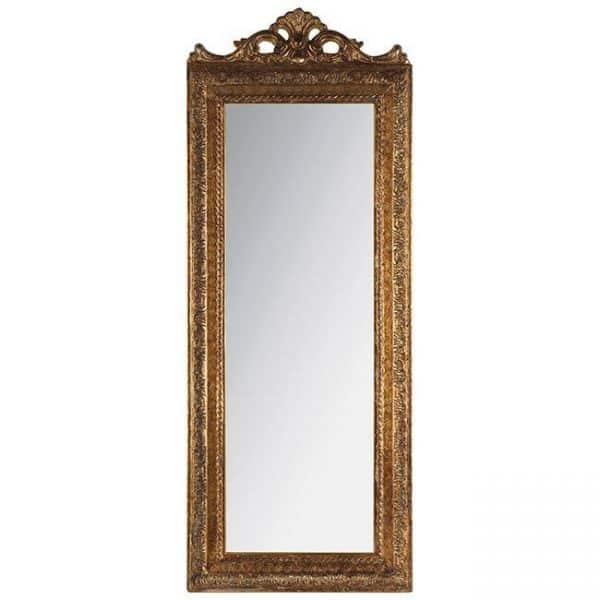 Inart Καθρέπτης Τοίχου     Πολυρεσίνη,Γυαλί 35x2x90 cm