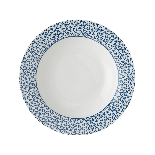 Πιάτο Βαθύ Πορσελάνης Laura Ashley Floris 22cm