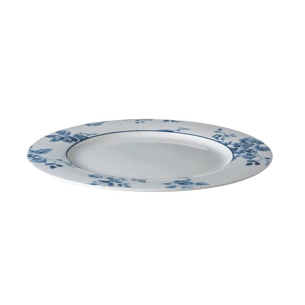 Πιάτο Ρηχό Πορσελάνης Laura Ashley Blueprint China Rose 23cm