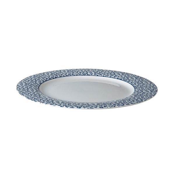 Πιάτο Ρηχό Πορσελάνης Laura Ashley Blueprint Floris 23cm
