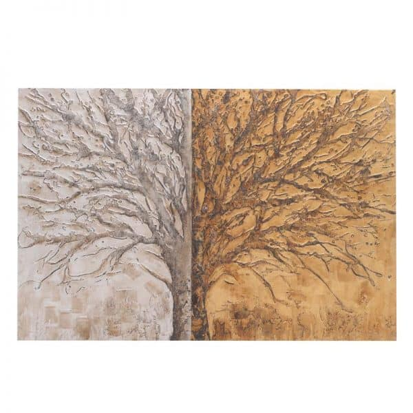 Inart Ελαιογραφία 100X150 Multi  Πεύκο Καμβάς 150x4x100 cm