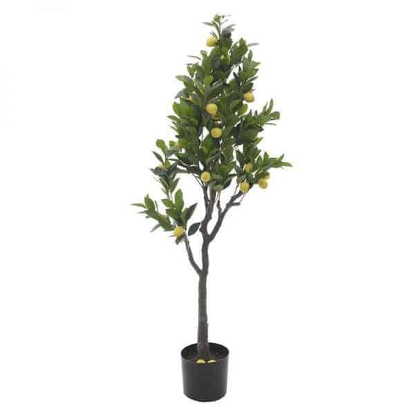 Inart Τεχνητό Δέντρο Κίτρινο-πορτοκαλί,Πράσινο,Καφέ Σίδερο  Συνθετικό / ΠΟΛΥΕΣΤΕΡ Πλαστικό
