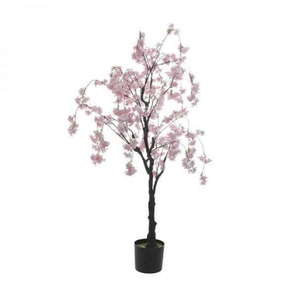 Inart Τεχνητό Δέντρο Ροζ-Μωβ