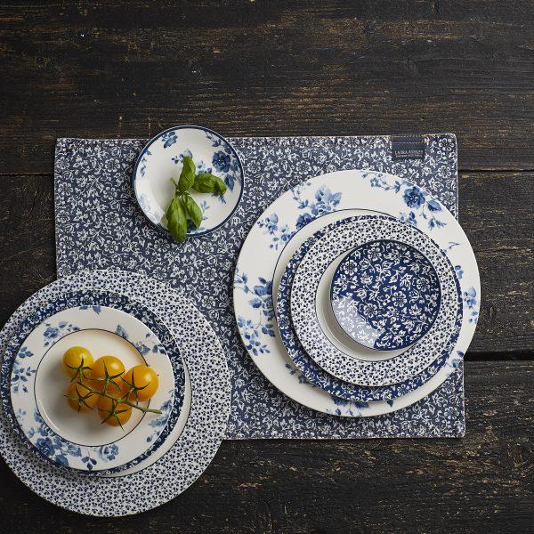 Πετσέτα Κουζίνας Laura Ashley Blue Cotton 50x50cm