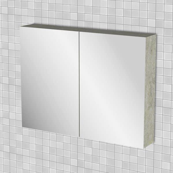 Κρεμαστός Καθρέπτης Μπάνιου Arlene 86x14x65cm