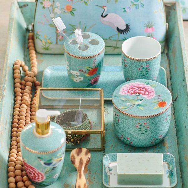 Δισκάκι Πορσελάνης Pip Studio Good Morning Blue 27×12 cm