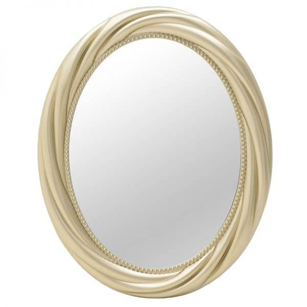 Inart Καθρέπτης Τοίχου     Γυαλί,Πλαστικό 58x5x73 cm
