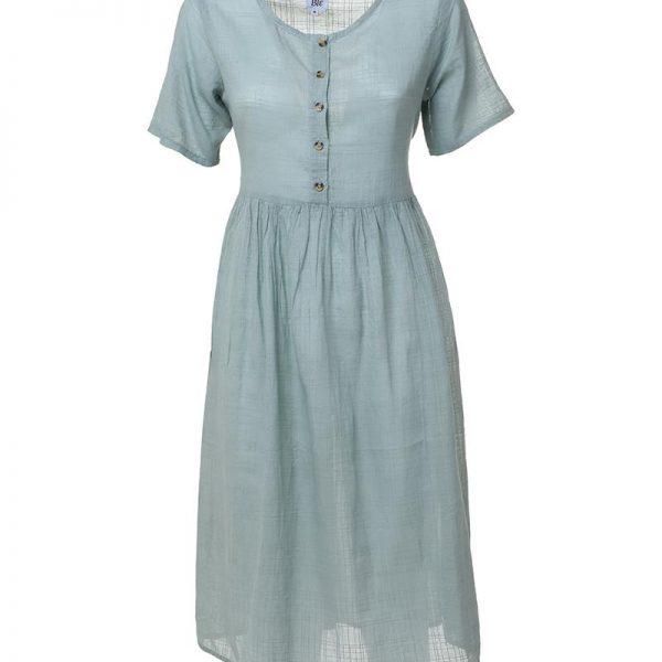 Inart Φόρεμα Χακί