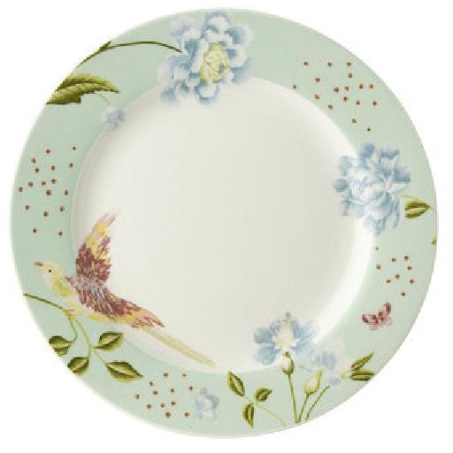 Πιάτο Γλυκού Πορσελάνης Laura Ashley Heritage Mint Uni 18cm