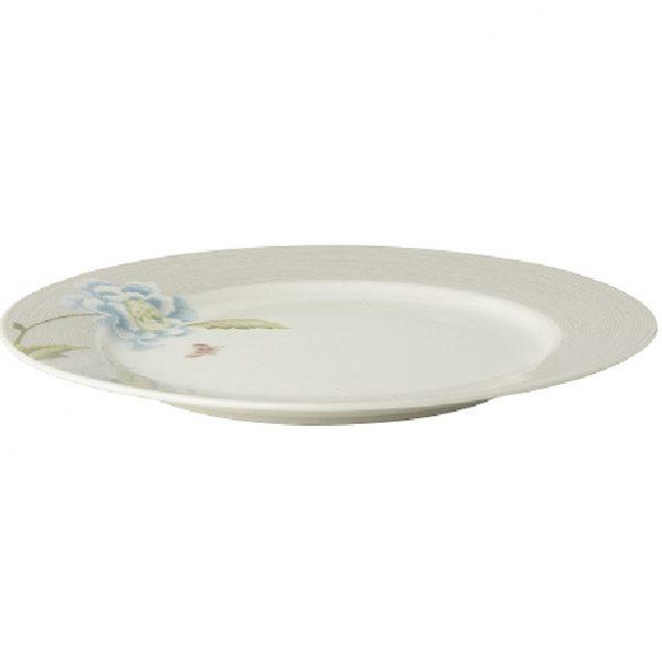 Πιάτο Ρηχό Πορσελάνης Laura Ashley Heritage Cobblestone Pinstripe Uni 20cm
