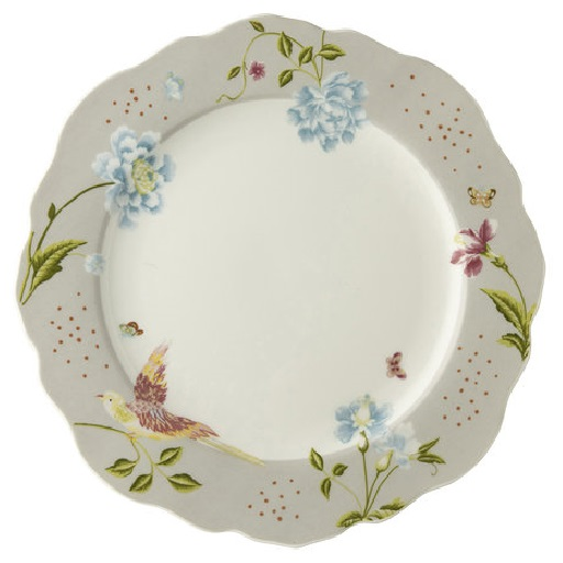 Πιάτο Ρηχό Πορσελάνης Laura Ashley Heritage Irregular Cobblestone Uni 24,5cm