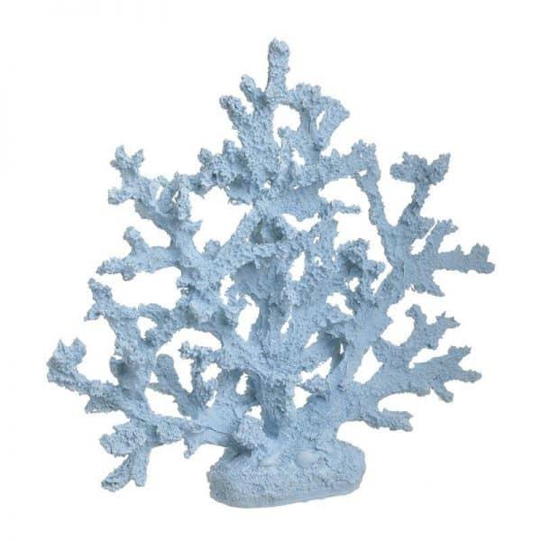 Inart Επιτραπέζιο Διακοσμητικό Μπλε    Πολυρεσίνη 32x7x35 cm