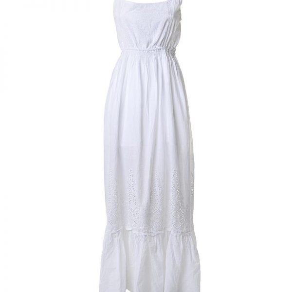 Inart Φόρεμα Μακρύ Αμάνικο