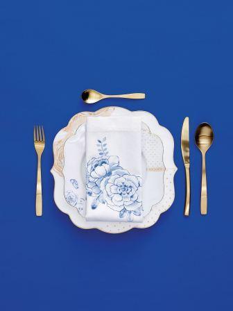 Πιάτο Γλυκού Πορσελάνης Pip Studio Royal White 17cm