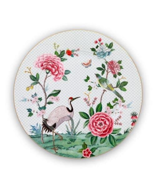 Πιατέλα Πορσελάνης Pip Studio Blushing Birds White 32cm