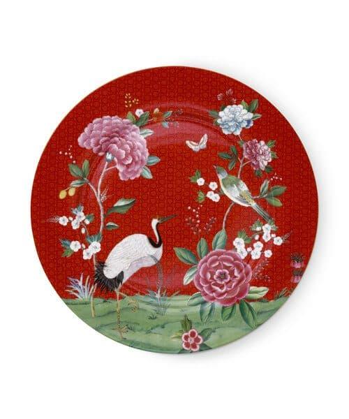 Πιατέλα Πορσελάνης Pip Studio Blushing Birds Red 32cm